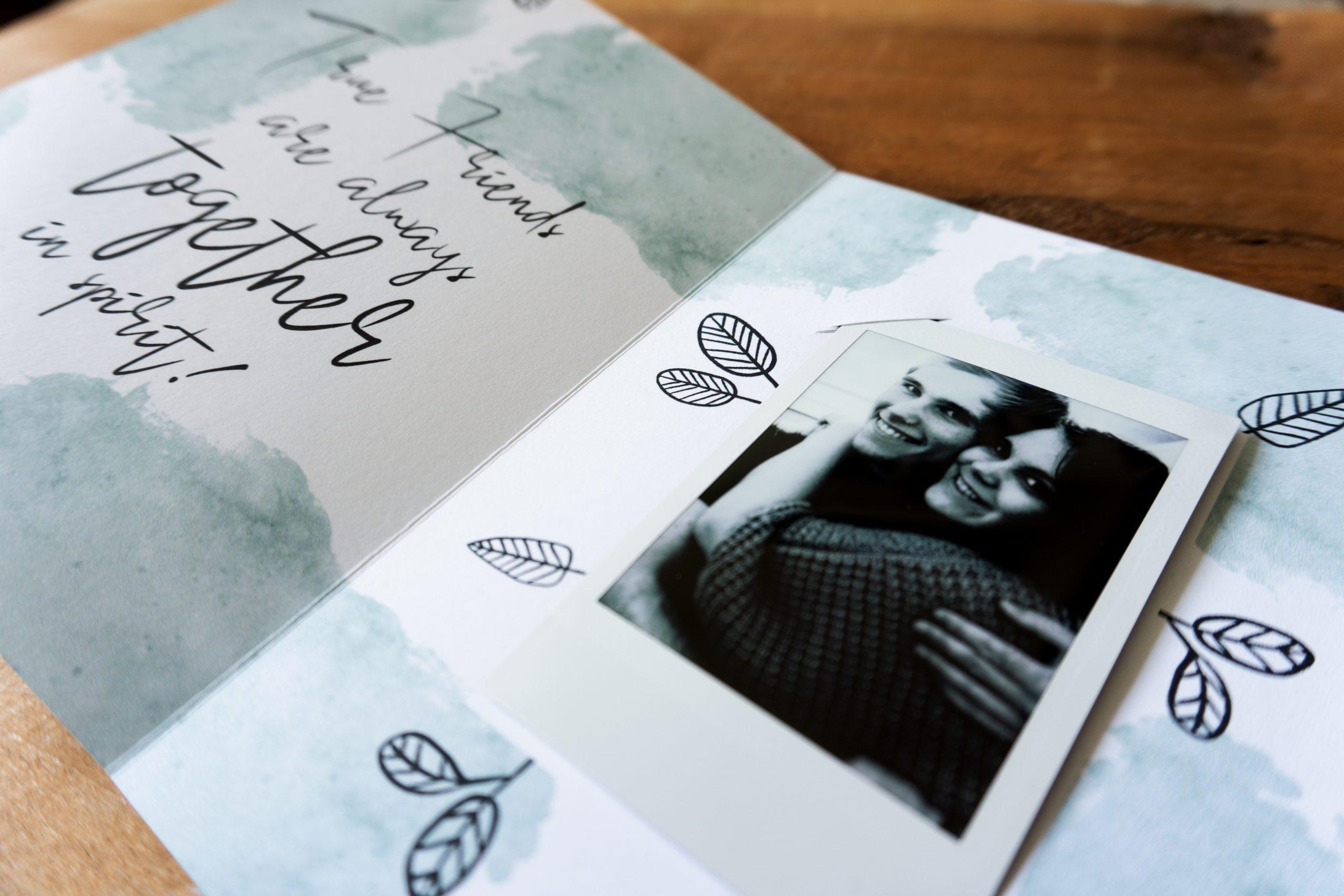 Fotokarten zum Verschenken