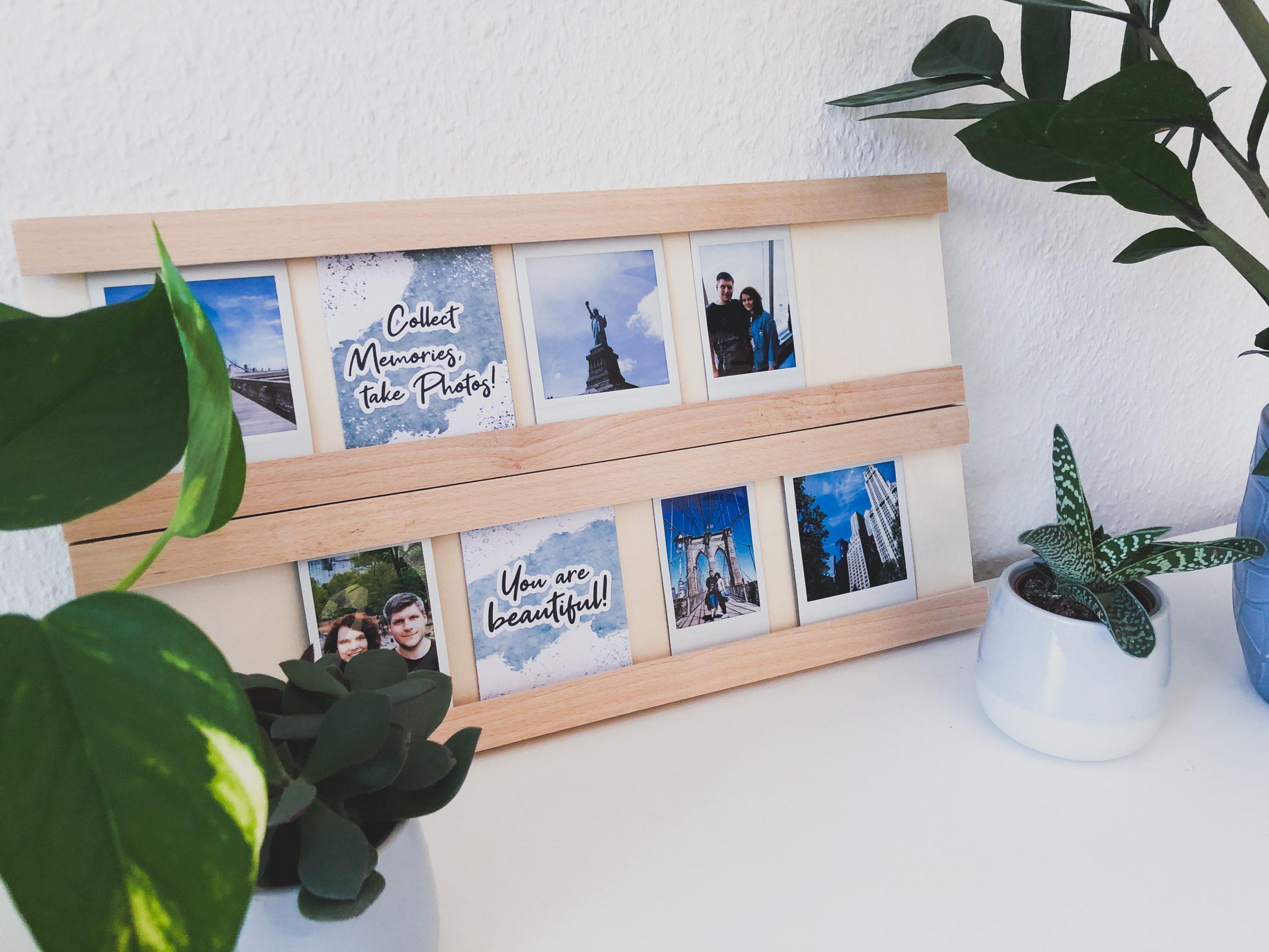 Schickes Polaroid-Board